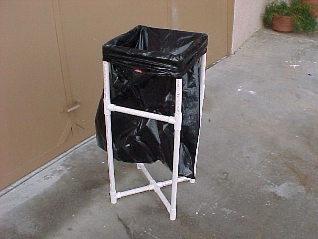 Trash Stand and a Few Other Pvc Camping DIY Projects