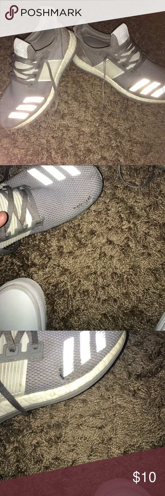 Adidas pure boost zg Great shoes in a worn down condition Shoes Sneakers