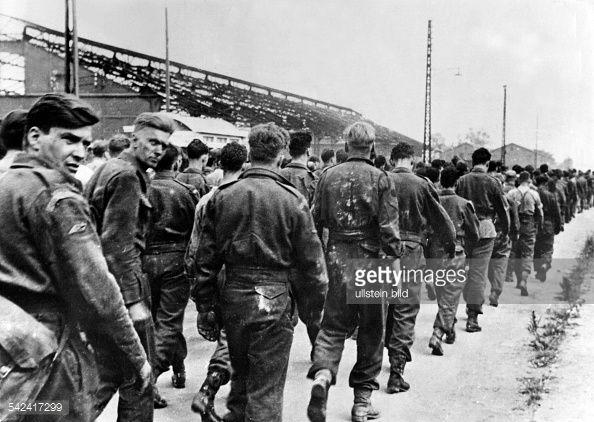 Photo d'actualité : Dieppe Raid, alliied POW, August 1942