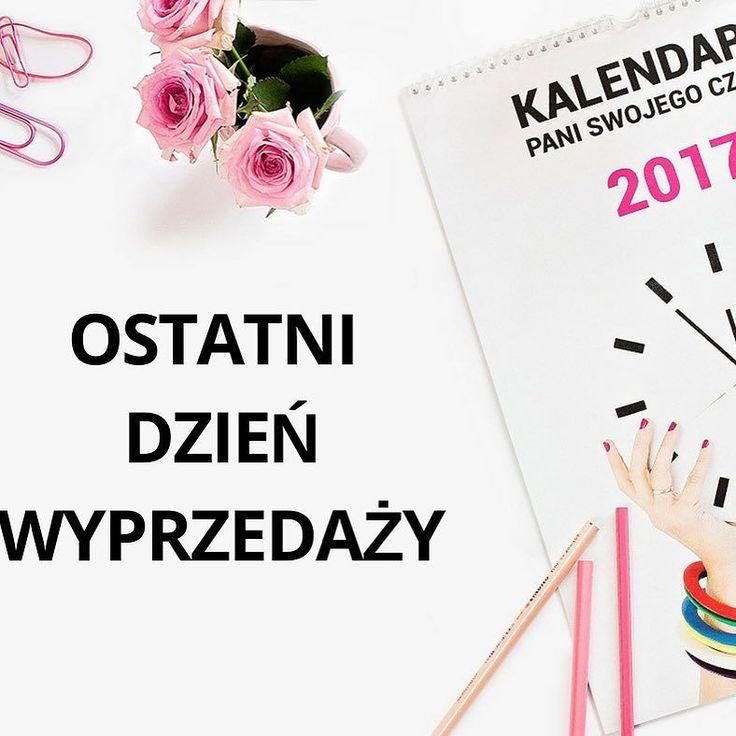 Uprzejmie donosimy że dzisiaj jest nie tylko ostatni dzień wyprzedaży kalendarza (jest tańszy aż o 50%) ale także ostatni dzień jego sprzedaży. Dziś o północy na zawsze znika z naszej oferty więc nie ma na co czekać! #psc #paniswojegoczasu #goodmorningworld #goodmorninginsta #goodmorning #motywacja #rozwoj #kalendarz #kalendarzpsc #calendar #wyprzedaż #wyprzedaz