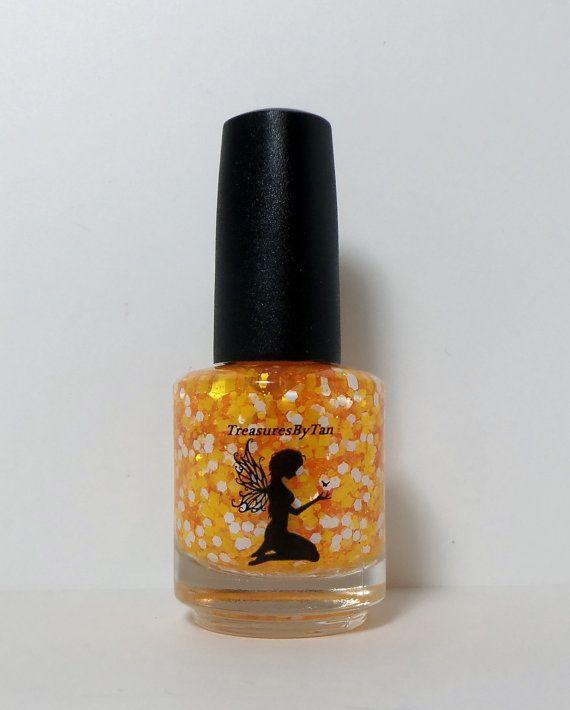 UT Vols University of Tennessee Nail Polish by TreasuresByTan