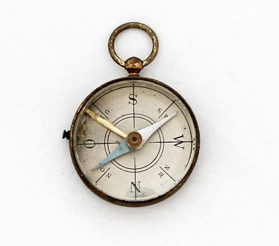 Antique WWI German Pocket Compass by TheGentlemansBlade on Etsy