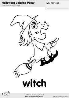 Free Coloring Sheets For Halloween Characters From The Hello My Friends Song By