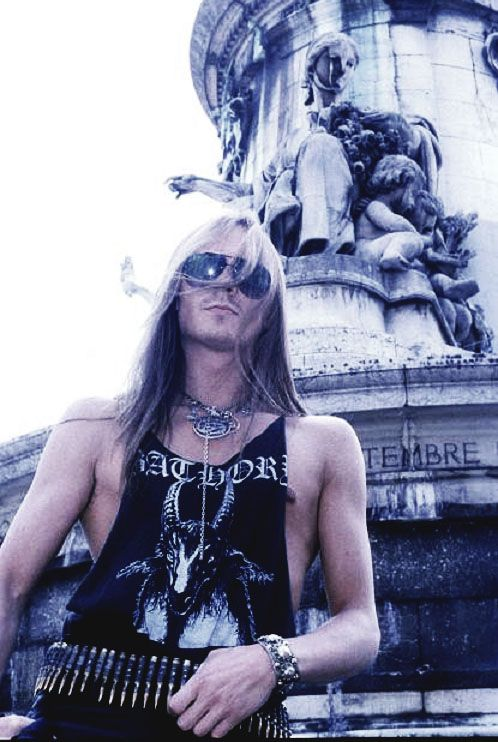 Quorthon (Tomas Borje Forsberg) Father of the Scandinavian Black Metal scene, and later the Viking Metal genre altogether. This man is a legend in Metal.