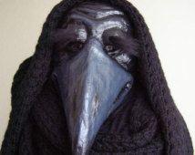Plaque arts masker dierlijke masker vogel kostuum vogel hoofd Masquerade masker Halloween masker papier mache masker papier mache vogel