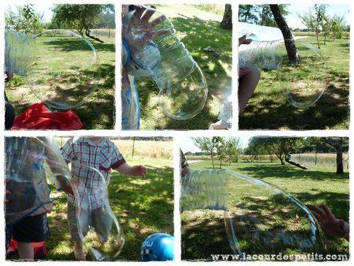 Un kit à bulles de savon géantes fait maison |La cour des petits