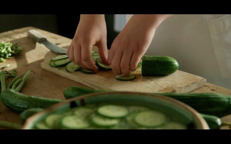 Klassisk agurkesalat