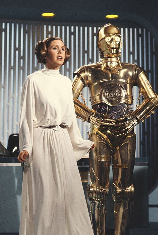 Carrie Fisher, la chica que no quiso ser princesa (Leia)