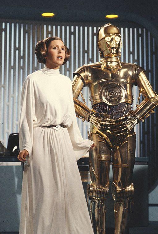 Carrie Fisher, la chica que no quiso ser princesa (Leia)