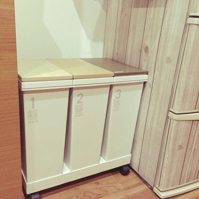 憧れキッチン 選ぶならこの4タイプ デザイン コスパもチェック ゴミ箱 キッチン 無印良品の家 狭いキッチン 収納