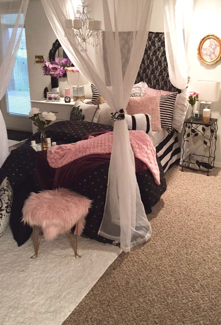 Victoria Secret Inspired Bedroom In 2019 Room Decor