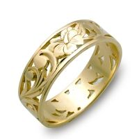 Hawaiian Wedding Band Ring Hawaii