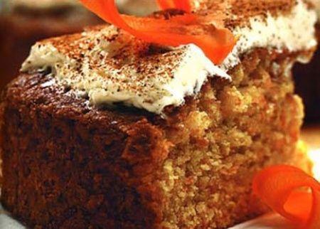 Рецепт - Морковный торт
