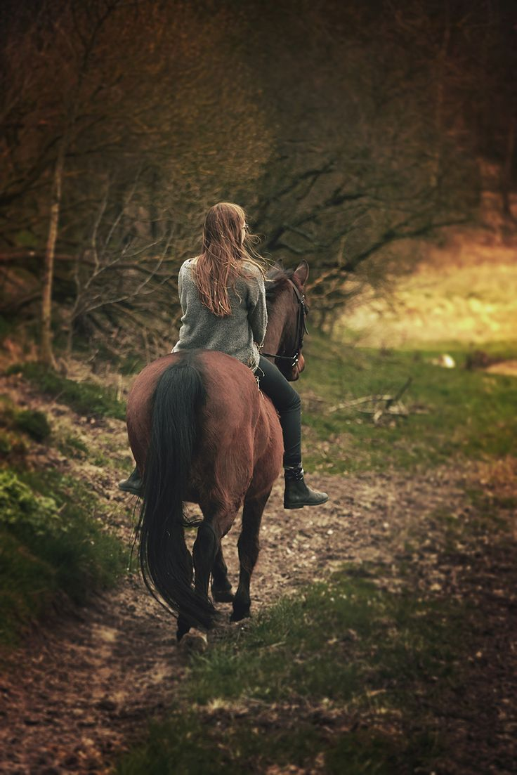 FairyTales by Photographer Pernille Bering  Girl on her horse