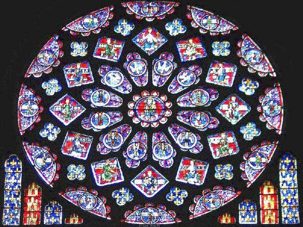 Roseton gotico