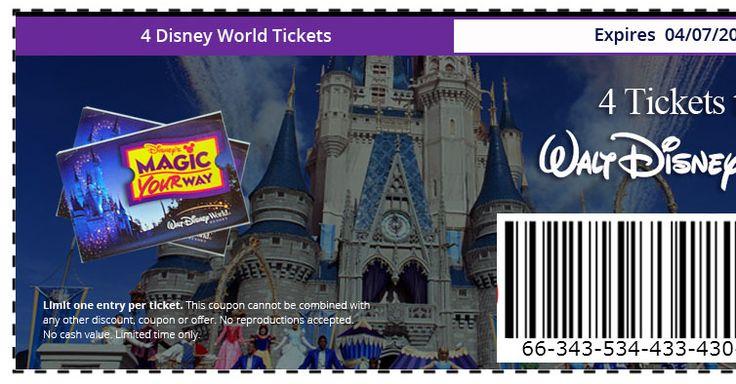 Need 3 Friends to Enter! Get 4 Walt Disney World Tickets - Get your tickets - (4) per person http://disney.magicyourway.club/rsvp/7b76ineo