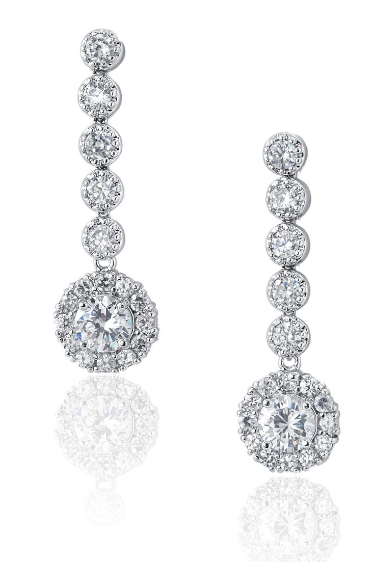 Sposabella - You dont get much more sparkle than on these gorgeous earrings