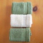 Aprenda a tricotar com padrões de toalhinha grátis no Making It de Karla!