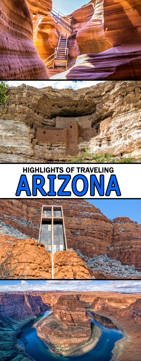 Find the best things to do in Arizona here. Traveling in Arizona offers many one of a kind and unique places to visit from the Grand Canyon to Antelope Canyon, Native American ruins and the Red Rocks of Sedona.