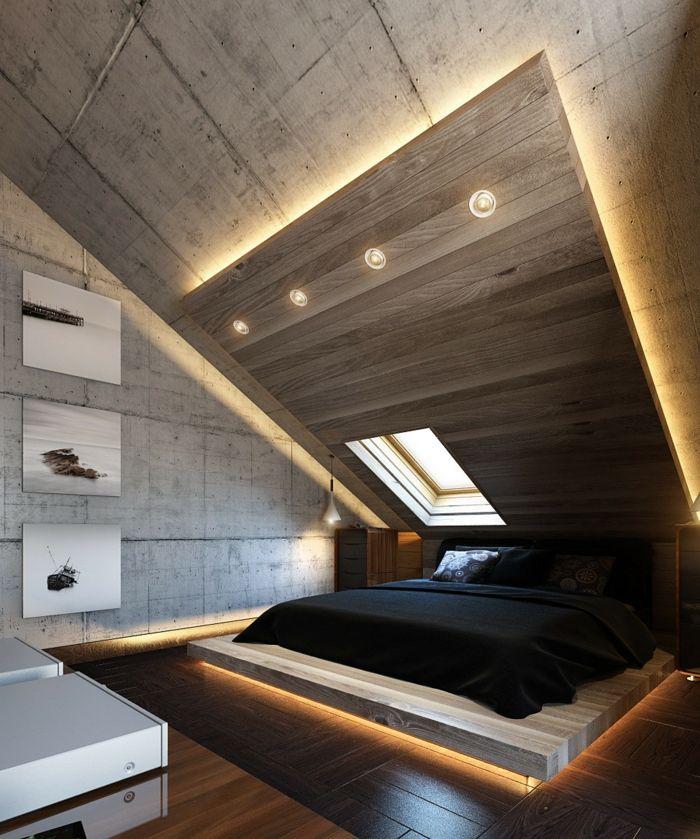 Bedroom design – 42 examples of suitable lighting!