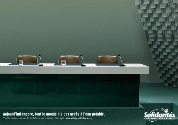 Solidarités International - La salle de réunion