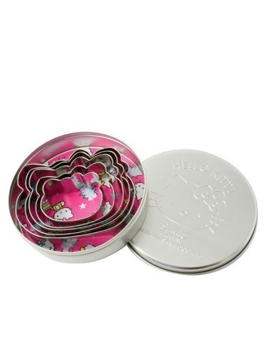 Hello Kitty Stainless Steel Cookie Cutter – Set Of 5 » Pink Hello Kitty » Shop Hello Kitty — All your Hello Kitty Products Here!