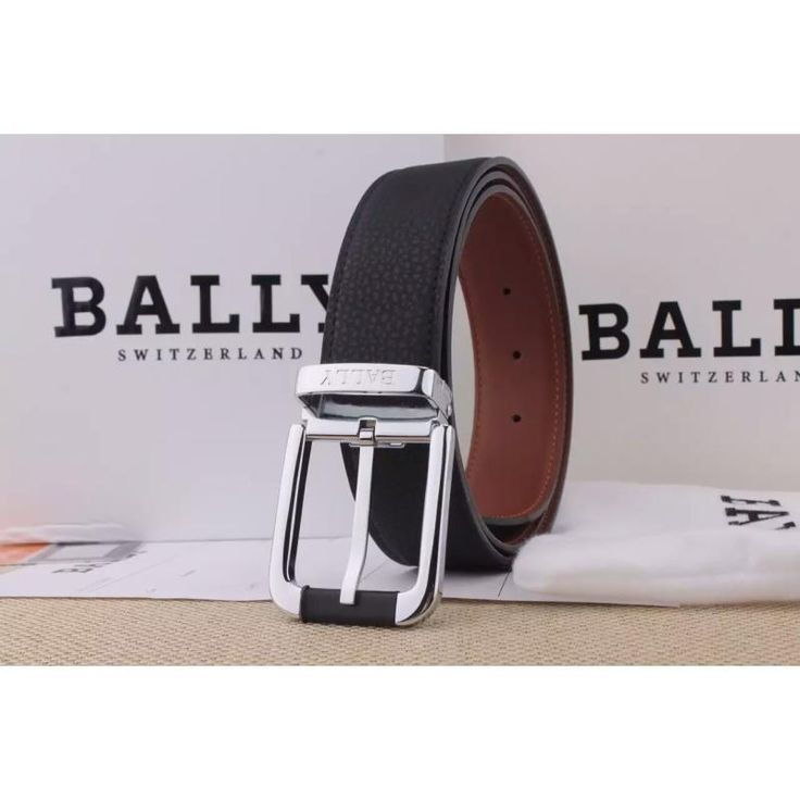 Bally 1 : 1 quality belts, top layer leather blets, steel buckle, width 38mm