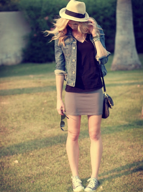 perfect summer outfit.... love the denim jacket: Fashion, Style, Dress, Cute Outfits, Summer Outfits, Jean Jackets, Summer Concert Outfit