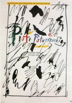 Piotr Potworowski - Henryk Tomaszewski Polish poster gallery, poster for sale, art posters in Berlin
