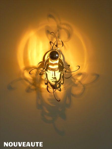 14 best applique luminaire images on pinterest light for Luminaire baroque
