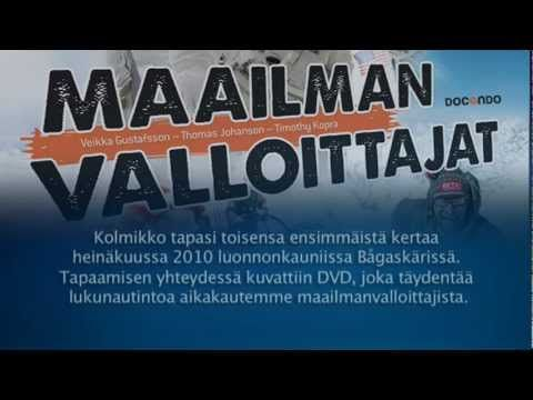 Hannu wrote this English soundtrack piece for the DVD accompanying the Finnish book on sportsmen and adventurers of Finnish heritage, Maailman Valloittajat, published by Docendo.