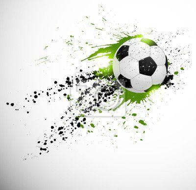 Wall Mural Soccer design