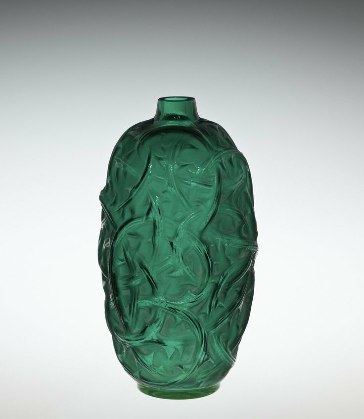 Ronces (Brambles) by Rene #Lalique, 1921 | Corning Museum of #Glass