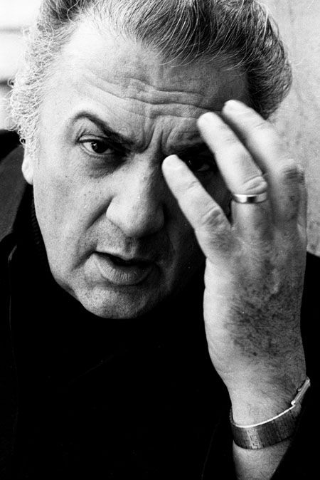 Federico Fellini - film director and scriptwriter