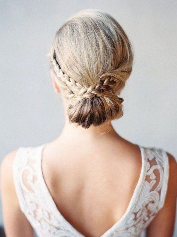 wedding updo hairstyle via Hair and Makeup by Steph 2 - Deer Pearl Flowers / www...