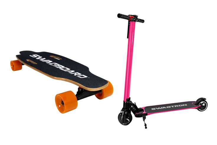 Swagway now makes (cheap) electric skateboards and scooters