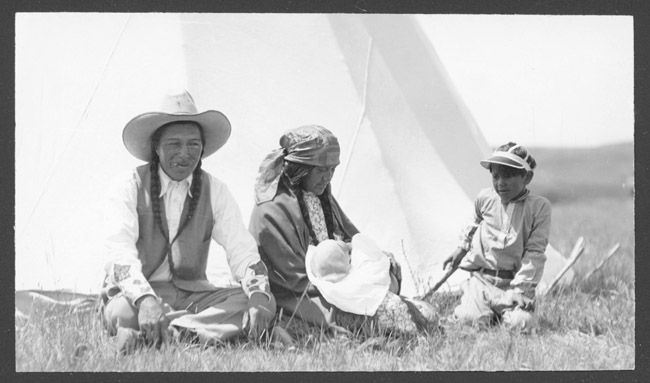Ed Redwing, Two Guns White Calf, Blackfoot Siksika, Montana, Indian Peoples Digital Image Database Object Description