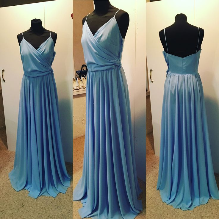 Ball / Prom / Bridesmaid in pastel blue made to order