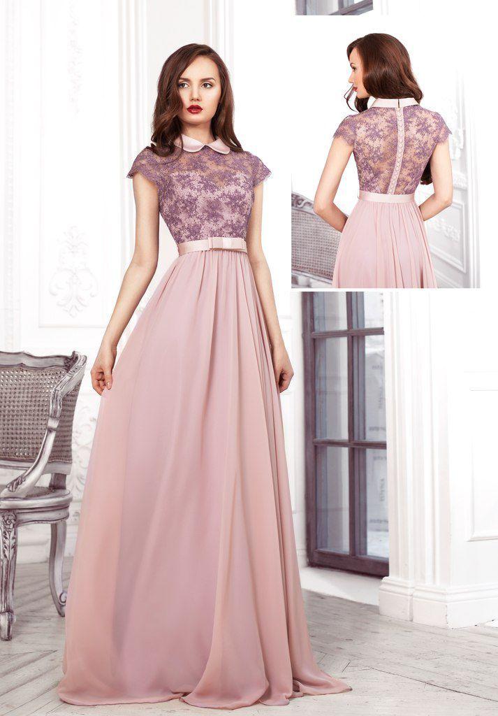 Вечение платье