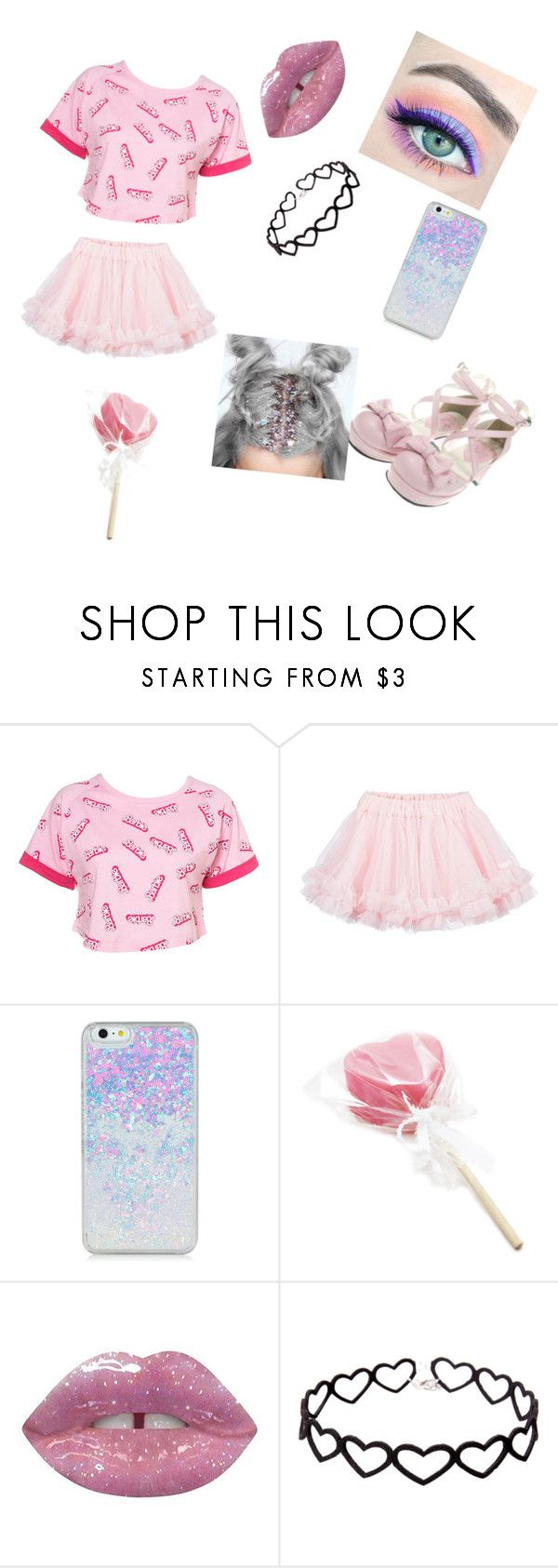 """""""Untitled #59"""" by sweety-dash ❤ liked on Polyvore featuring LILI GAUFRETTE and Lime Crime"""