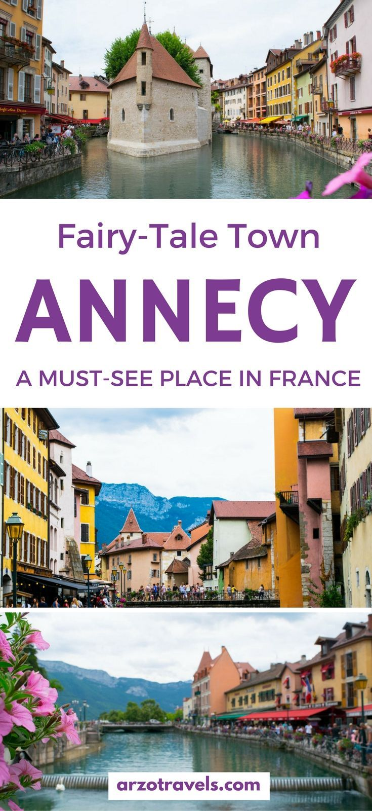 Annecy is a beautiful town in France, close to the Swiss boarder. Find out to spend a weekend in Annecy with the gorgeous, fairy-tale old town and the Lake Annecy.