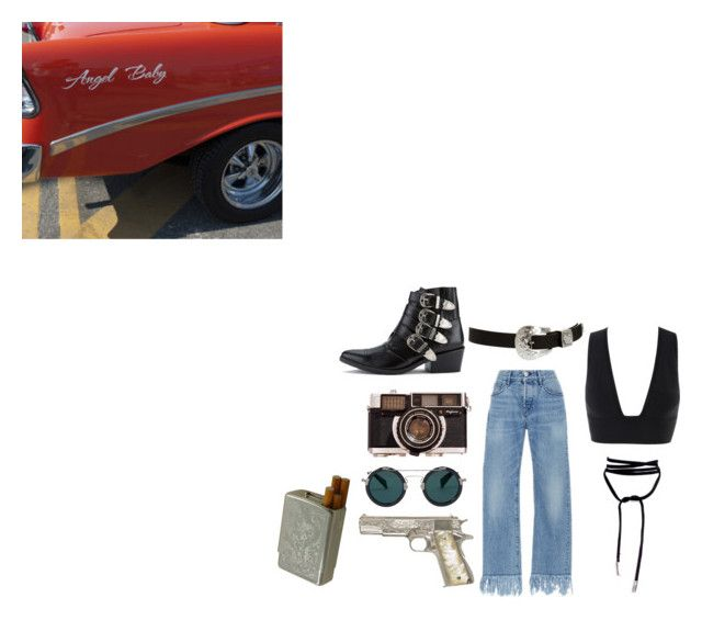"""Midnight Rider - Allman Brothers Band"" by beeanchorr ❤ liked on Polyvore featuring Lamoda, Toga, 3x1, ASOS, Yohji Yamamoto, rockerchic and rockerstyle"