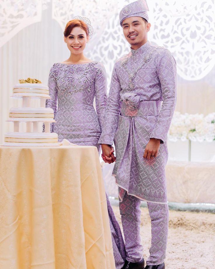 Songket wedding dress