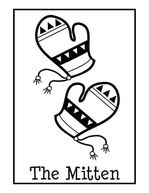 LOVE IT The Mitten Free Unit Study & Lapbook - LA, Math, Social Studies, Art