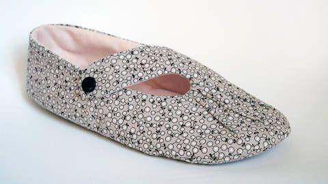 Anleitung Ballerinas °Roxanne° orimono Größen 35 - 44 Hausschuhe bei Makerist