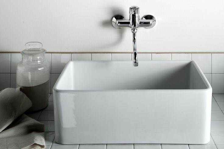Butler Sink Downstairs Bathroom Renovation Pinterest