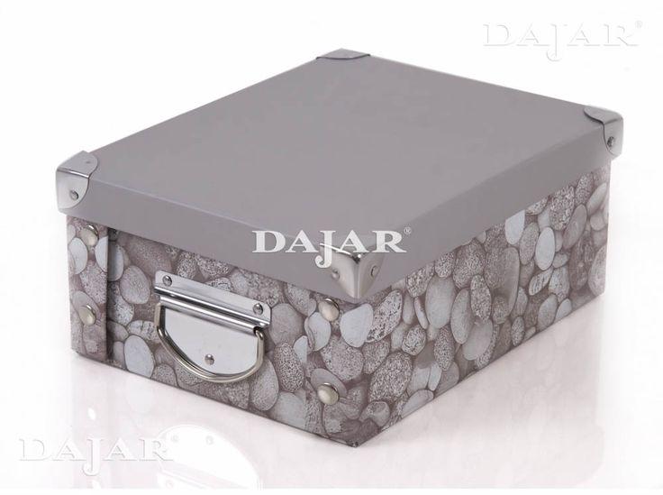 Pudełko tekturowe Kamień ARRANGER 39 x 28 x 19 cm http://sklep.dajar.pl/pudelko-tekturowe-kamien-39-x-28-x-19-cm-arranger