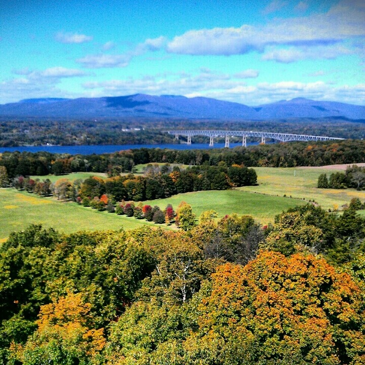 Catskill mountains view from ferncliff forest fire tower for Hudson valley weekend getaway