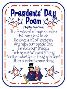 PRESIDENTS' DAY FREE PRINTABLES - TeachersPayTeachers.com
