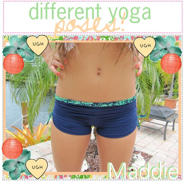 """""""Different Yoga Positions! (For Beginners)"""" by your-healthy-guide on Polyvore"""